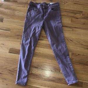 American Eagle Washed Out Pink Jegging